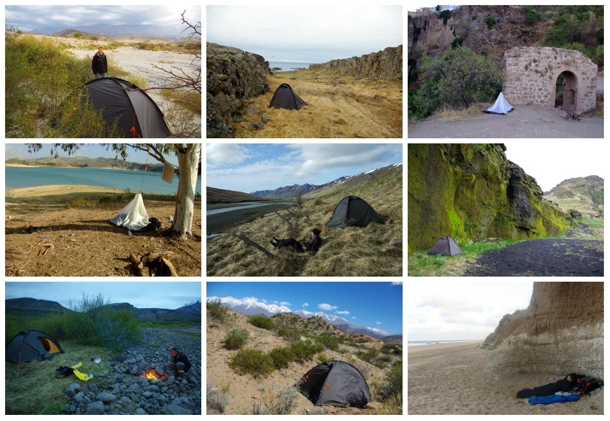 Jak tanio podróżować - spanie na dziko pod namiotem