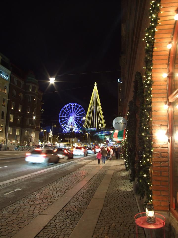 Goeteborg nocą