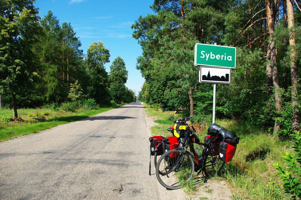 Rowerem dookoła Polski - Syberia