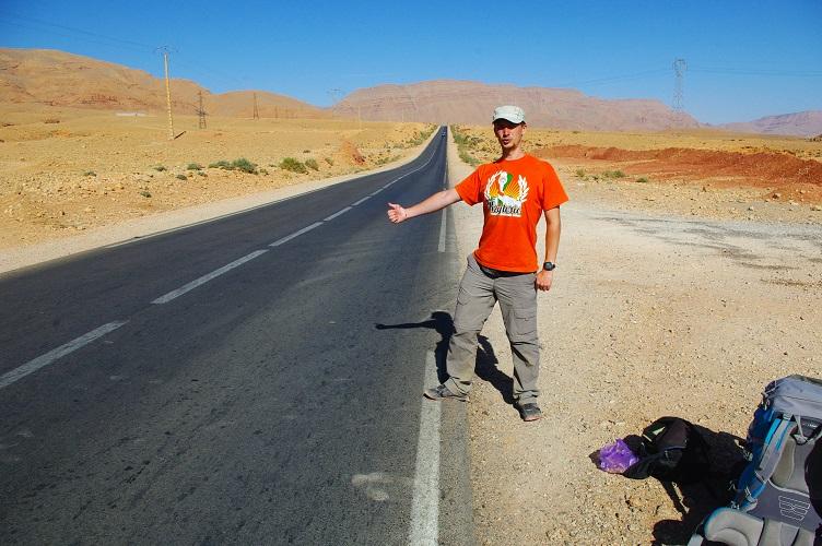 maroko autostop