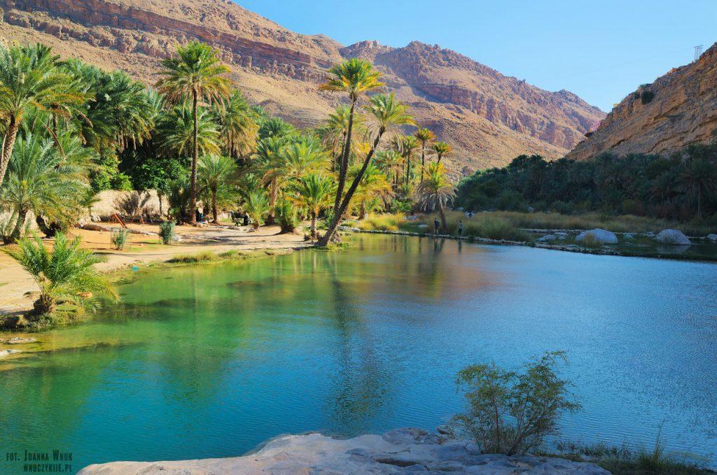 Co warto zobaczyć w Omanie - Wadi Bani Khalid