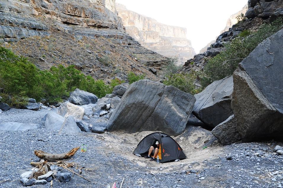 Co warto zobaczyć w Omanie - Wadi Ghul