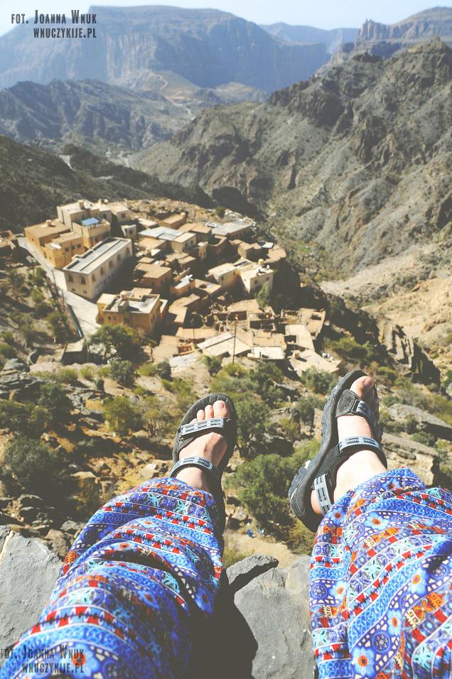 Atrakcje Omanu - Jebel Akhdar