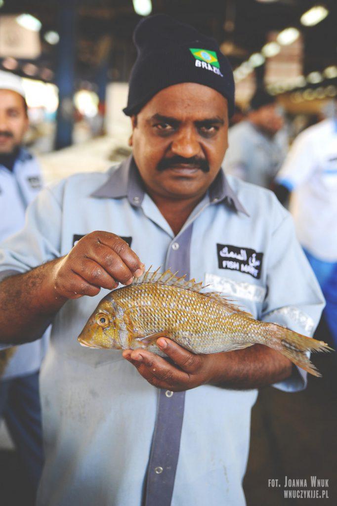 Dubaj - targ rybny