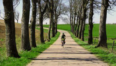 Mazury rowerem