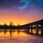 Magiczny wschód słońca nad Warszawą [ZDJĘCIA]