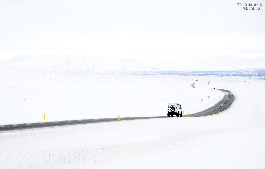 Islandia zimą