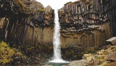 Islandia wodospady