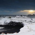 Islandia zimowa. Tak surowo, a tak pięknie! [DUŻE ZDJĘCIA]