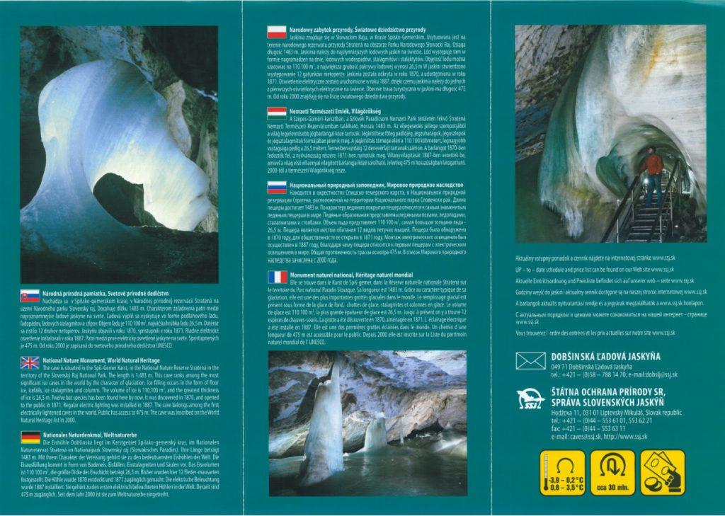 dopszyńska jaskinia lodowa